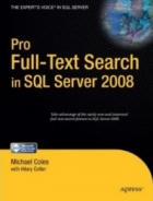 Book Pro Full-Text Search in SQL Server 2008 free