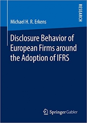 Download Disclosure Behavior of European Firms around the Adoption of IFRS free book as pdf format