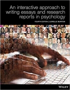 Book An Interactive Approach to Writing Essays and Research Reports in Psychology (Black & White) free
