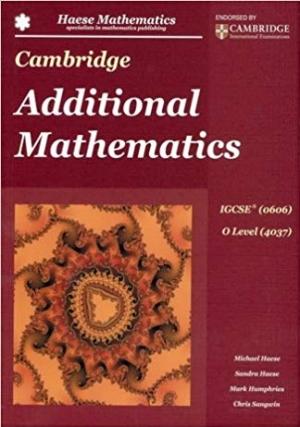 Download Cambridge IGCSE Additional Mathematics free book as pdf format