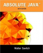 Book Absolute Java, 6th Edition free