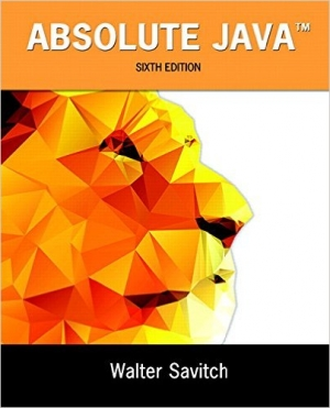 Download Absolute Java, 6th Edition free book as pdf format
