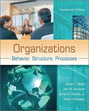 Download Organizations: Behavior, Structure, Processes free book as pdf format