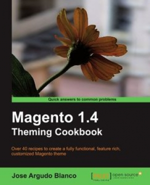 Download Magento 1.4 Theming Cookbook free book as pdf format