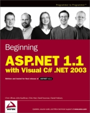 Download Beginning ASP.NET 1.1 with Visual C# .NET 2003 free book as pdf format