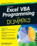 Book Excel VBA Programming For Dummies, 2nd Edition free