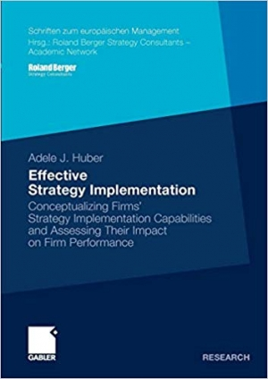 Download Effective Strategy Implementation free book as pdf format