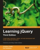 Book Learning jQuery, 3rd Edition free