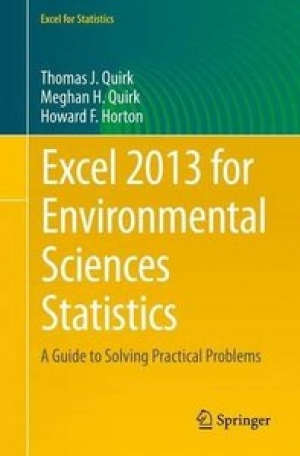 Download Excel 2013 for Environmental Sciences Statistics free book as pdf format