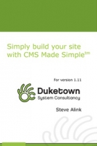 Simply build your site with CMS Made Simple