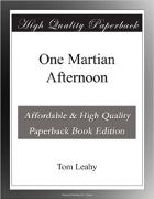 Book One Martian Afternoon free