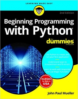 Download Beginning Programming With Python For Dummies, 2Ed free book as pdf format