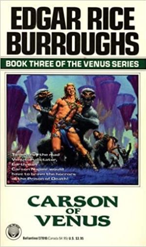 Download Carson of Venus free book as epub format