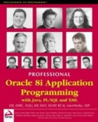 Book Professional Oracle 8i Application Programming with Java, PL/SQL and XML free