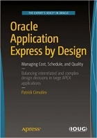 Book Oracle Application Express by Design free