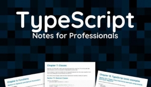 Download TypeScript Notes for Professionals free book as pdf format