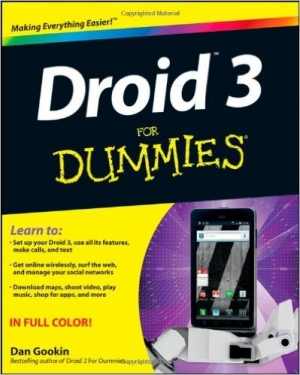 Download Droid 3 For Dummies free book as pdf format