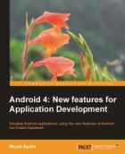 Book Android 4: New Features for Application Development free