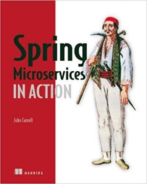 Download Spring Microservices in Action free book as pdf format