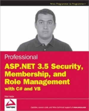 Download Professional ASP.NET 3.5 Security, Membership, and Role Management with C# and VB free book as pdf format