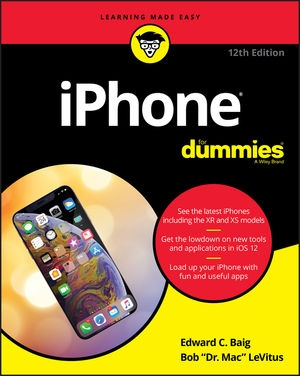 Download iPhone For Dummies, 12th Edition free book as pdf format