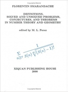 Book Definitions, Solved and Unsolved Problems, Conjectures, and Theorems in Number Theory and Geometry free