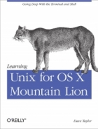 Book Learning Unix for OS X Mountain Lion free