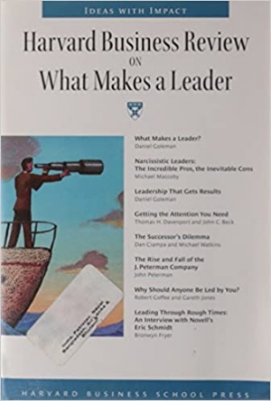 Download Harvard Business Review on What Makes a Leader free book as pdf format