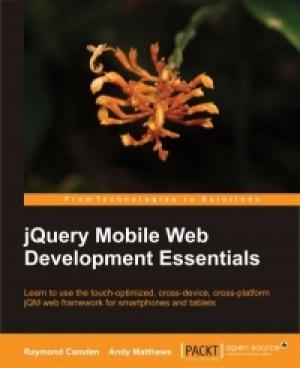 Download jQuery Mobile Web Development Essentials free book as pdf format
