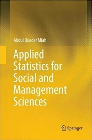 Download Applied Statistics for Social and Management Sciences free book as epub format