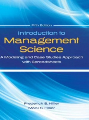Download Introduction To Management Science: A Modeling And Case Studies Approach With Spreadsheets free book as pdf format