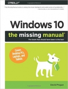 Book Windows 10: The Missing Manual free