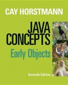 Book Java Concepts: Early Objects, 7th Edition free