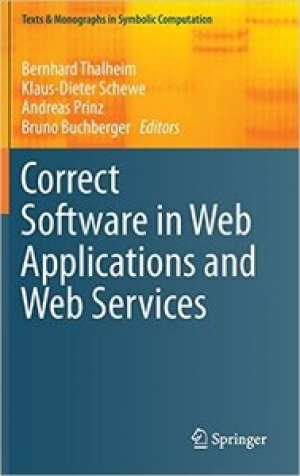 Download Correct Software in Web Applications and Web Services free book as pdf format