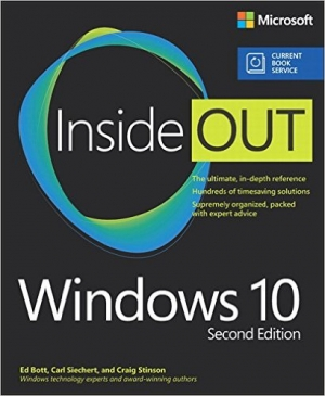 Download Windows 10 Inside Out, 2nd Edition free book as pdf format