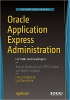 Book Oracle Application Express Administration free
