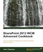 Book SharePoint 2013 WCM Advanced Cookbook free