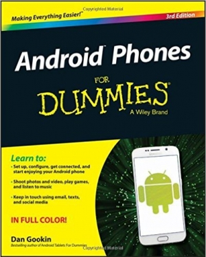 Download Android Phones For Dummies, 3rd Edition free book as pdf format