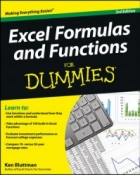 Book Excel Formulas and Functions For Dummies, 3rd Edition free
