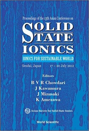 Download Solid State Ionics: Ionics for Sustainable World free book as pdf format