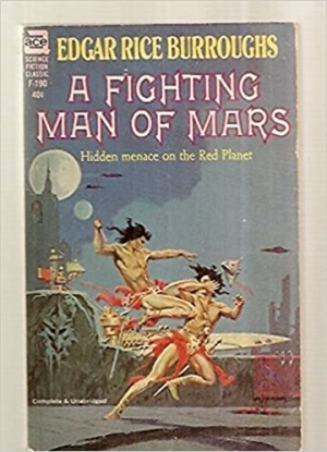Download A FIGHTING MAN OF MARS free book as epub format