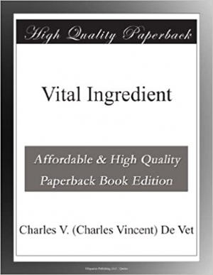 Download Vital Ingredient free book as epub format