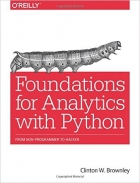 Book Foundations for Analytics with Python free
