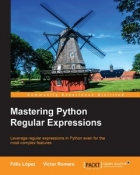 Book Mastering Python Regular Expressions free