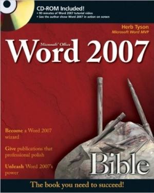 Download Microsoft Word 2007 Bible free book as pdf format