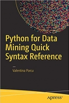 Book Python for Data Mining Quick Syntax Reference free