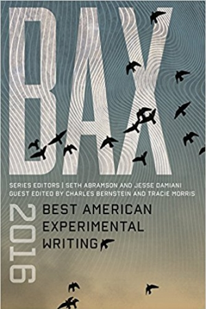 Download BAX 2016: Best American Experimental Writing free book as epub format