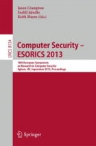 Book Computer Security – ESORICS 2013 free