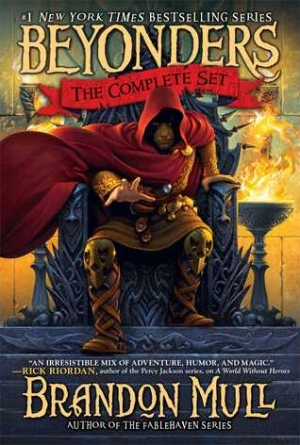 Download Brandon Mull's Beyonders Trilogy: A World Without Heroes; Seeds of Rebellion; Chasing the Prophecy free book as epub format