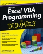 Book Excel VBA Programming For Dummies, 3rd Edition free